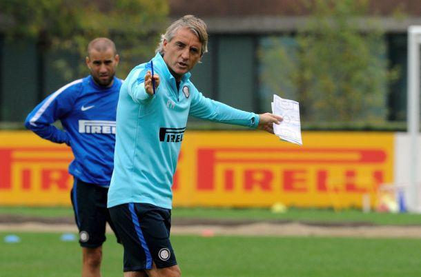 Inter, domani il ritorno in campo. Mancini valuta gli acciaccati