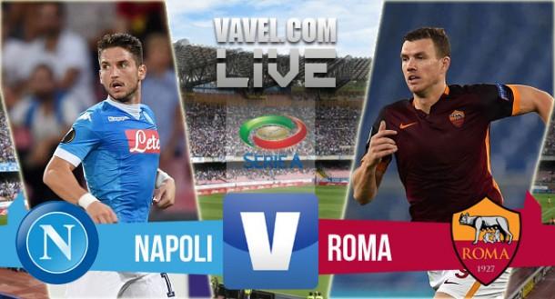 Risultato Napoli - Roma di Serie A 2015/16 (0-0): gli azzurri non sfondano il muro giallorosso