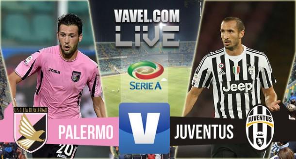 ResultadoPalermo x Juventus no Campeonato Italiano 2015/2016