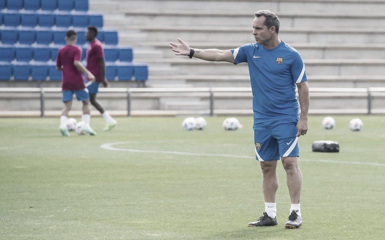 """Sergi Barjuan: """"Quería estar rodeado de gente que conociera el Club"""""""