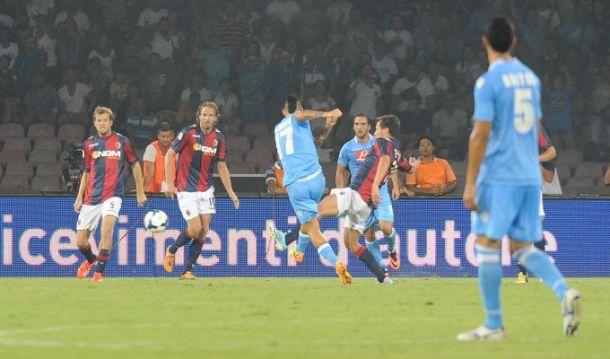Diretta Bologna - Napoli in Serie A
