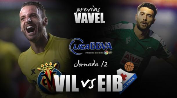 Villarreal - SD Eibar: a prolongar la dinámica positiva