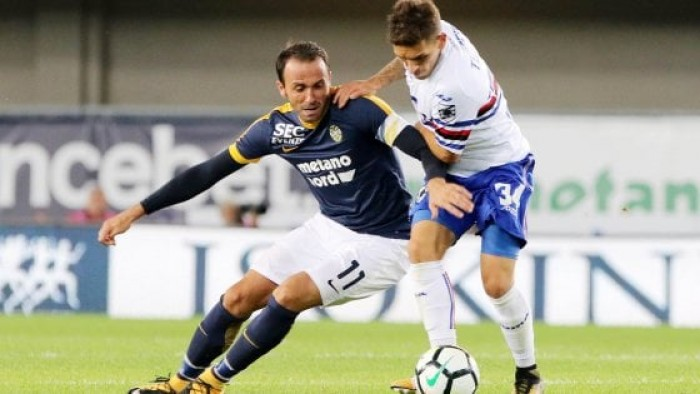 Verona-Sampdoria, le parole di Giampaolo: