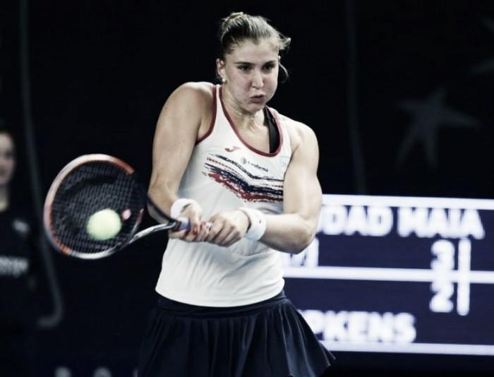Bia Haddad leva virada e perde para Larsson no WTA deLuxemburgo