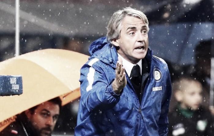 """Mancini projeta futura temporada da Inter após revés: """"Temos um corpo, mas Ljajic não fica"""""""
