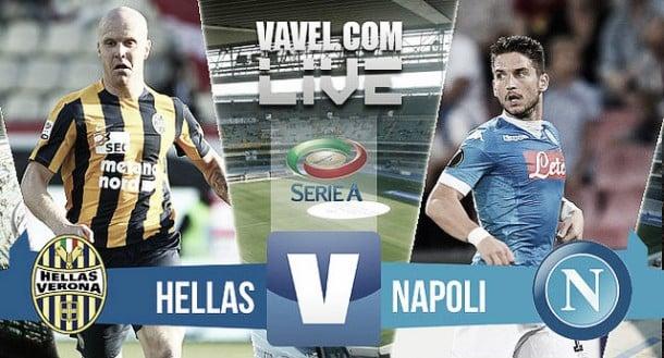 Resultado Hellas Verona - Nápoles en Serie A (0-2): los partenopeos asaltan el liderato
