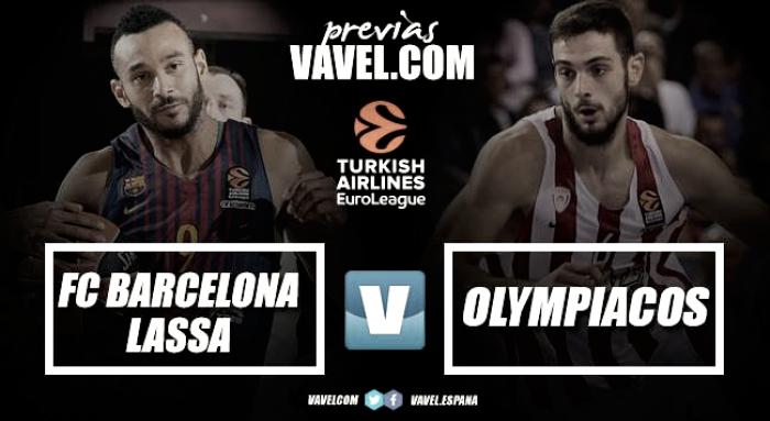 Previa FC Barça Lassa - Olympiacos Piraeus: en busca de la redención