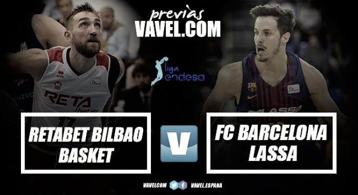 Previa RETAbet Bilbao Basket - FC Barcelona Lassa: a confirmar las sensaciones