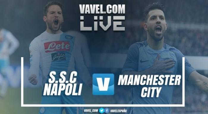 Resumen Napoli 2 - Manchester City 4: los de Guardiola golean en San Paolo y ya están en octavos