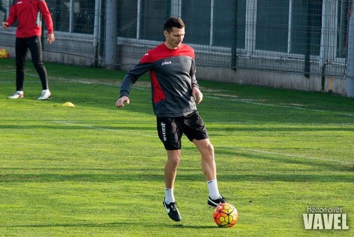 Constantin Galca ha dirigido el entrenamiento de hoy