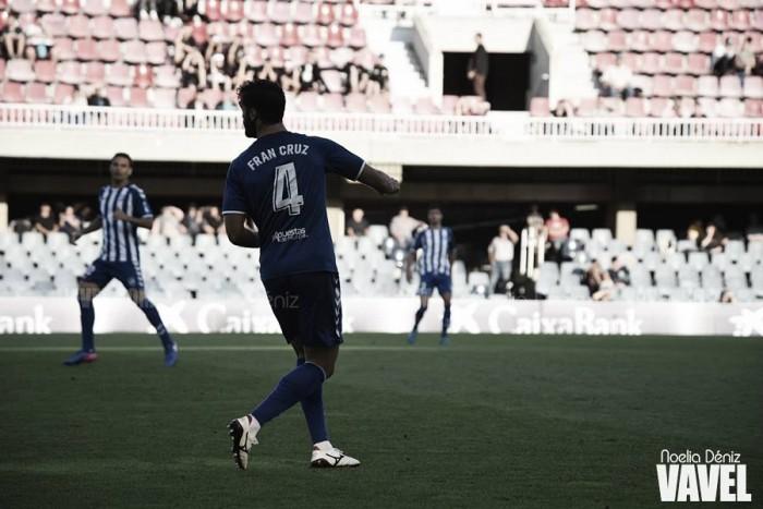 """Fran Cruz: """"Estoy seguro de que el equipo no va a dar la imagen que dio contra el Granada"""""""