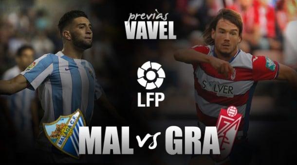 Málaga CF - Granada CF: hora de tomar aire