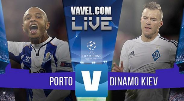 Resultado Porto - Dinamo de Kiev en Champions League 2015 (0-2): primera derrota en el peor momento