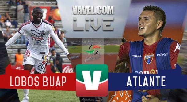 Resultado Lobos BUAP - Atlante en Ascenso MX 2015 (3-2)