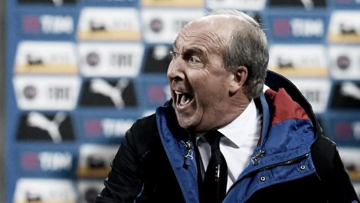 """Giampiero Ventura elogia atuação da Itália: """"Fomos bem contra os campeões do mundo"""""""