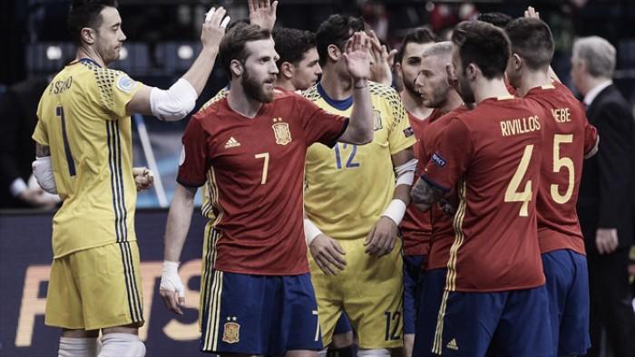 España ya tiene a sus guerreros para la Euro 2018