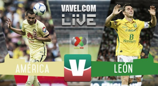 América vs León en vivo online en Liguilla Apertura (0-0)