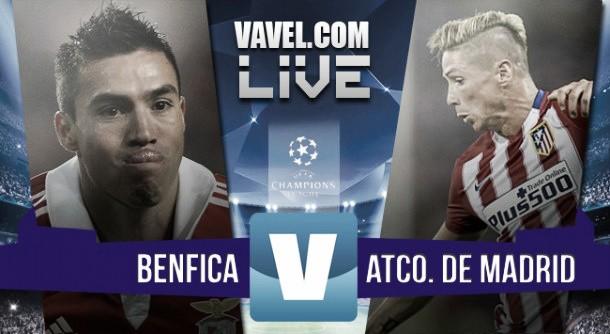 Resultado Benfica - Atlético de Madrid (1-2): el Atlético sufre para conseguir el liderato