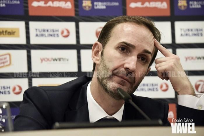 """Sito Alonso: """"La presión siempre existe aquí, en cada partido"""""""