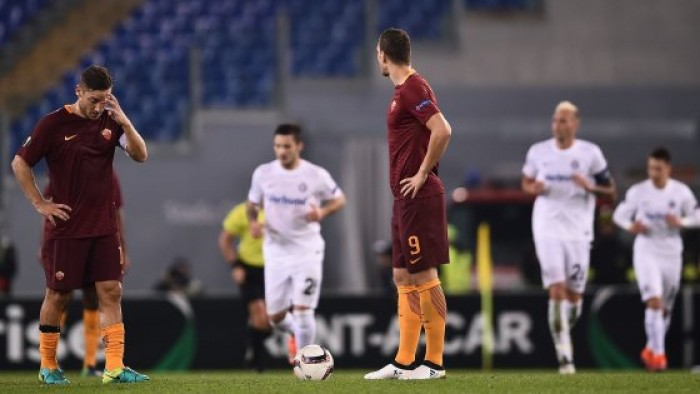 I soliti errori e l'immatura Roma si complica la vita in Europa League