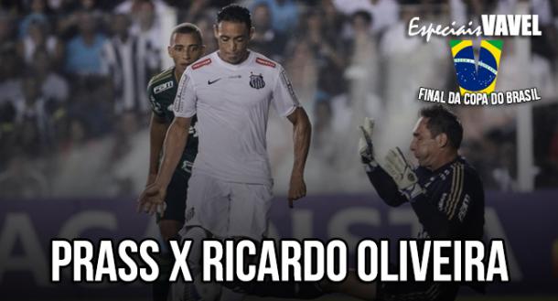 Fernando Prass x Ricardo Oliveira: a rivalidade recente que decidiu a Copa do Brasil