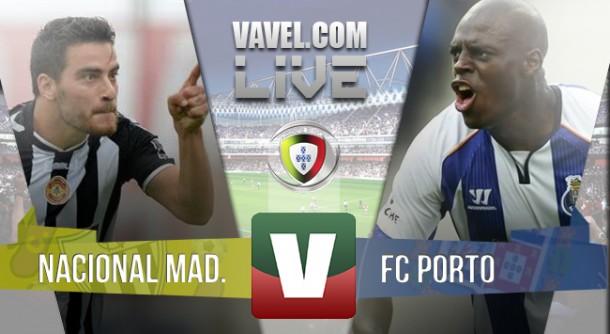 Resultado Nacional x Porto na Liga NOS 2015 (1-2)