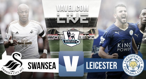 Result Swansea City 0-3 Leicester City in Premier League 2015