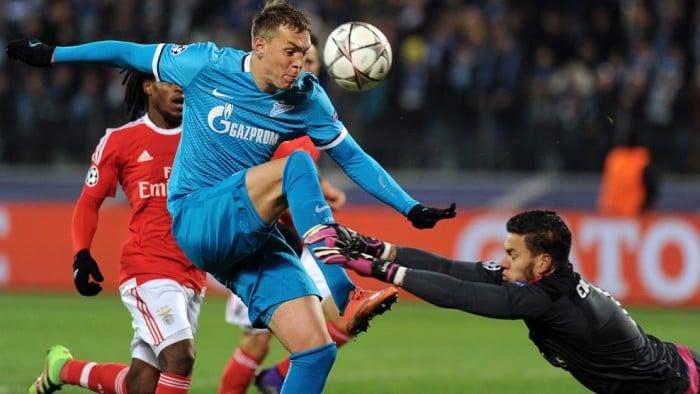 Ligue des Champions : Zenit-Benfica, la malédiction a encore frappé les russes