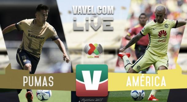 Resultado Pumas - América Semifinal de Vuelta Liga MX 2015 (1-3)