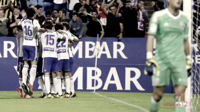 Puntuaciones Real Zaragoza - Rayo Vallecano: jornada 14