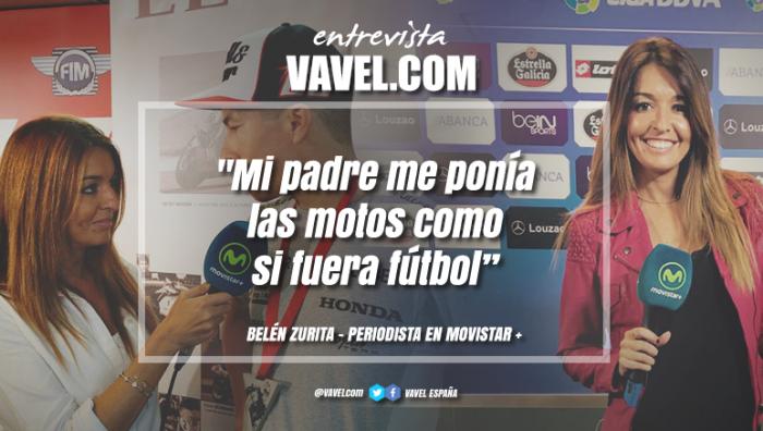 """Entrevista. Belén Zurita: """"Mi padre me ponía las motos como si fuera fútbol"""""""
