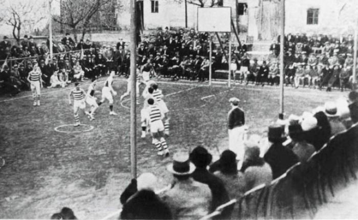 1910-1920: primeros pasos del básquet en Argentina