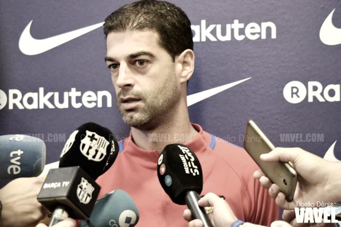 """Gerard López: """"El partido frente al Zaragoza tendrá tensión y nerviosismo"""""""