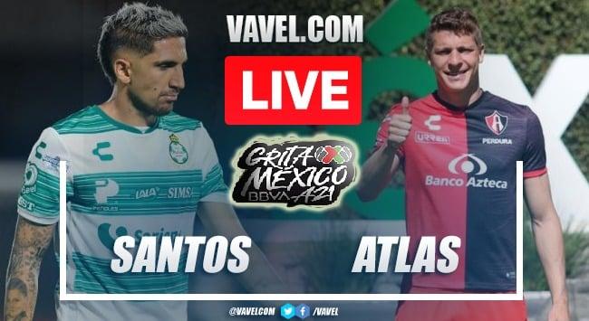 Goals and Highlights: Santos Laguna 1-1 Atlas in Liga MX 2021