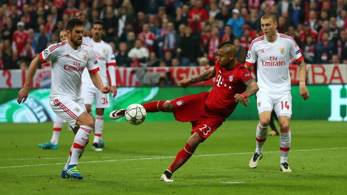 Champions League, il Bayern vince col brivido: all'Allianz Arena decide Vidal