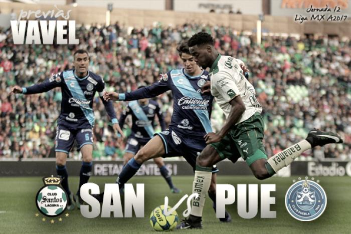 Previa Santos – Puebla: Batalla en el fondo de la general