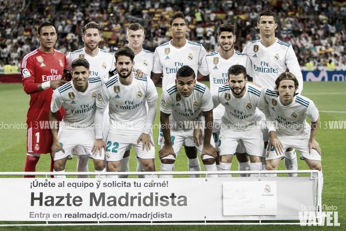 Real Madrid - Espanyol: Puntuaciones Real Madrid, jornada 7
