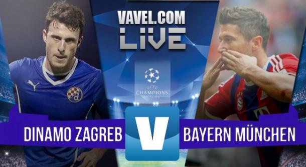 ResultadoDínamo Zagreb x Bayern de Munique na Uefa Champions League 2015/2016