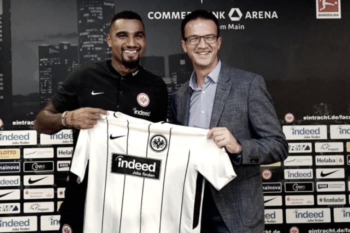 Kevin-Prince Boateng volta ao futebol alemão como reforço do Eintracht Frankfurt