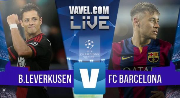 Resultado Bayer Leverkusen x Barcelona pela Uefa Champions League 2015/2016 (1-1)