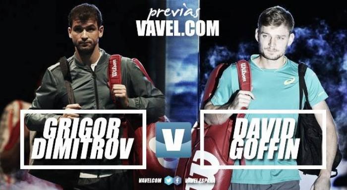 Previa Grigor Dimitrov - David Goffin: buscando una victoria con sabor a semifinal