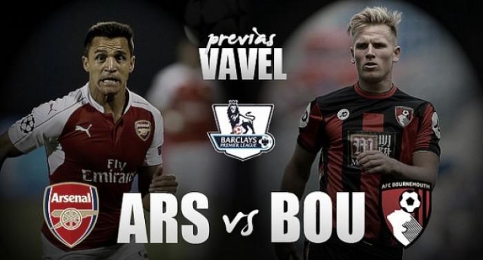 Previa Arsenal – AFC Bournemouth: Una victoria para no ceder más terreno por el liderato