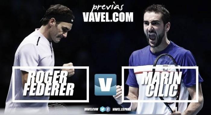 ATP Finals - Federer vs Cilic, prestigio in palio