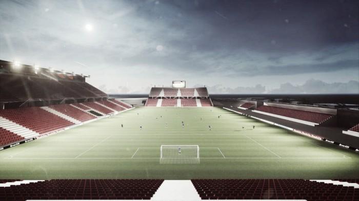 Presentan proyecto de remodelación del estadio de Coyotes de Tlaxcala