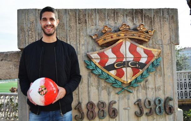 Carlos García se incorpora a las filas granas