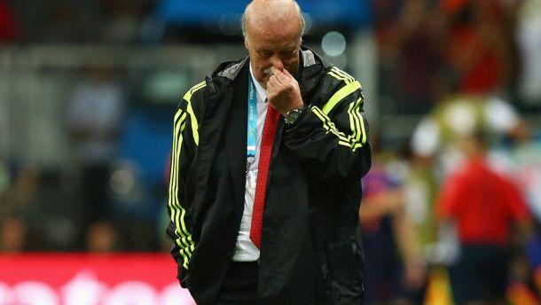 """Spagna ko, Del Bosque: """"Dobbiamo accettare la sconfitta"""""""