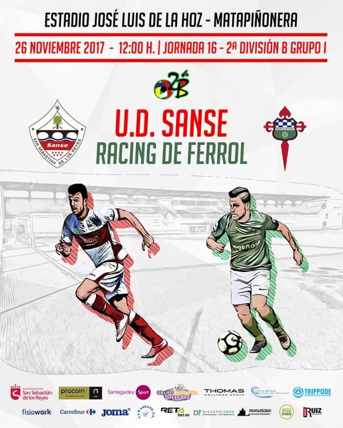 Ud San Sebastián De Los Reyes Racing De Ferrol Rozar El Cielo