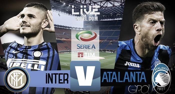 Risultato Inter - Atalanta in diretta, LIVE Serie A 2017/18 - Icardi(2)! (2-0)