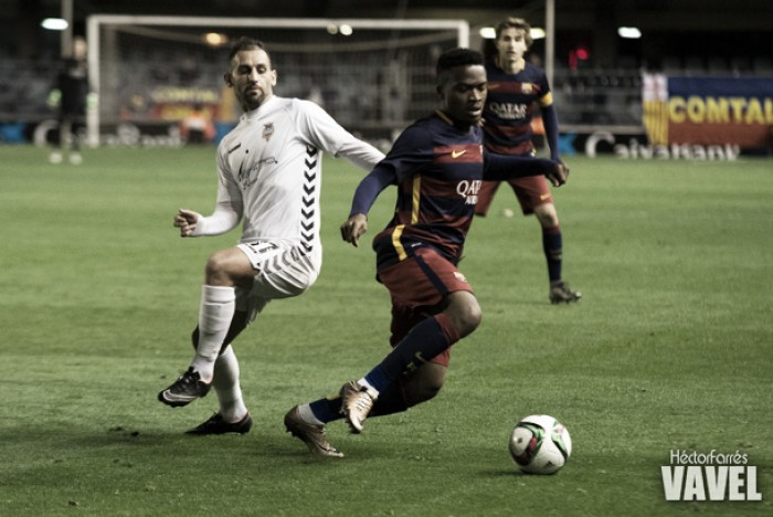 FC Barcelona B - Atlético Levante UD: puntuaciones del Barcelona B, jornada 26 de la Segunda División B