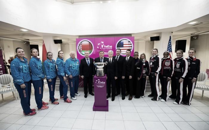 Bielorrússia empata a dois na final com os EUA — Fed Cup